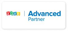 Logo Zoho Advanced Partner Nuva SAS Tecnología Simple